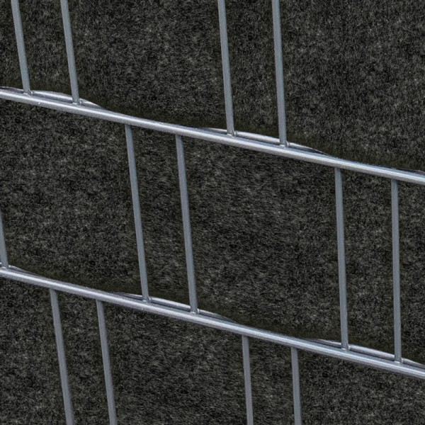 milano anthrazit doppelstabmatten sichtschutzstreifen. Black Bedroom Furniture Sets. Home Design Ideas