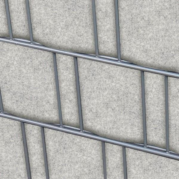 venezia hellgrau doppelstabmatten sichtschutzstreifen bedruckter sichtschutz katalog. Black Bedroom Furniture Sets. Home Design Ideas